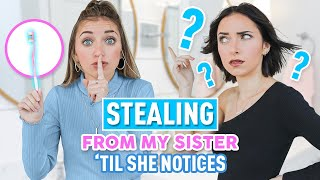Stealing From My Twin Sister Prank   Will She Notice?