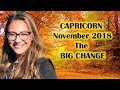 CAPRICORN November 2018. The START of 18 Months FATED RELATIONSHIPS. ONCE in 18 Years!