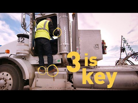 3 Is Key: How To Safely Enter And Exit Large Vehicles