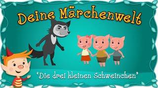 Die drei kleinen Schweinchen - Märchen und Geschichten für Kinder | Deine Märchenwelt
