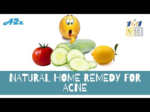 Natural Home Remedy For Acne   Quick and Easy Way