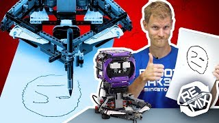 dOODLEBOT: Remix Reveal Video - Drawing Robot  LEGO MINDSTORMS & LEGO Technic