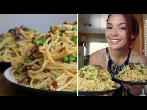 Vegan Carbonara // Recipe + Taste Test