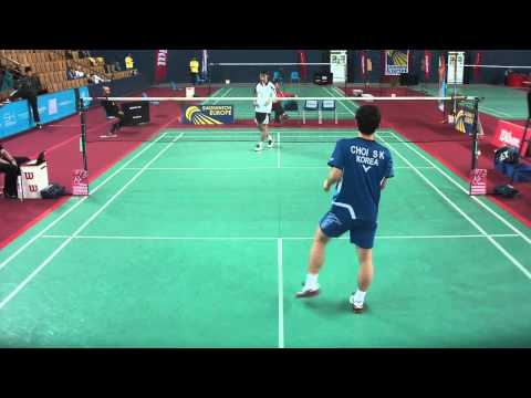 TV Court GJ2013 // Sol Kyu Choi Vs. Ka Long Ng (1st Set)