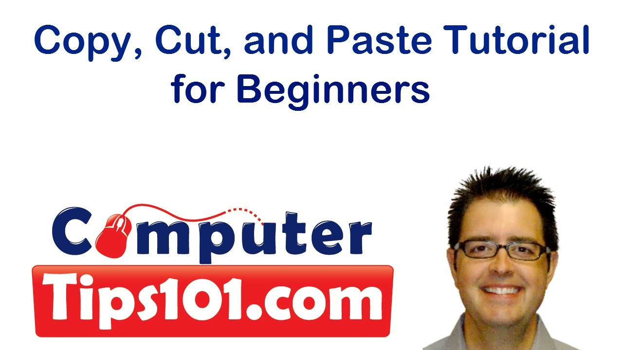 copy cut and paste tutorial for beginners using windows youtube