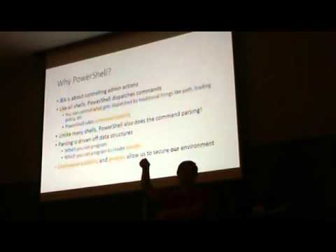 Just Enough Admin - Security in a Post-Snowden World - Jeffrey Snover - PowerShell Summit 2014