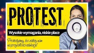Czy popieram strajk nauczycieli? | Magdalena Augustynowicz