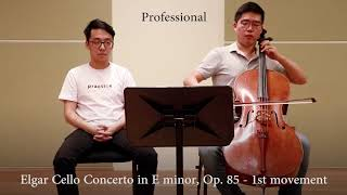 Professional vs Beginner Cellist