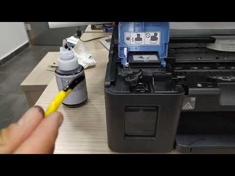 Canon G3411 Printer Driver Kurulum ve Kafa Temizleme işlemleri
