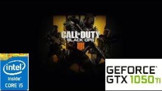 Call of Duty  Black Ops 4: GTX 1050 TI 4GB i5 4460