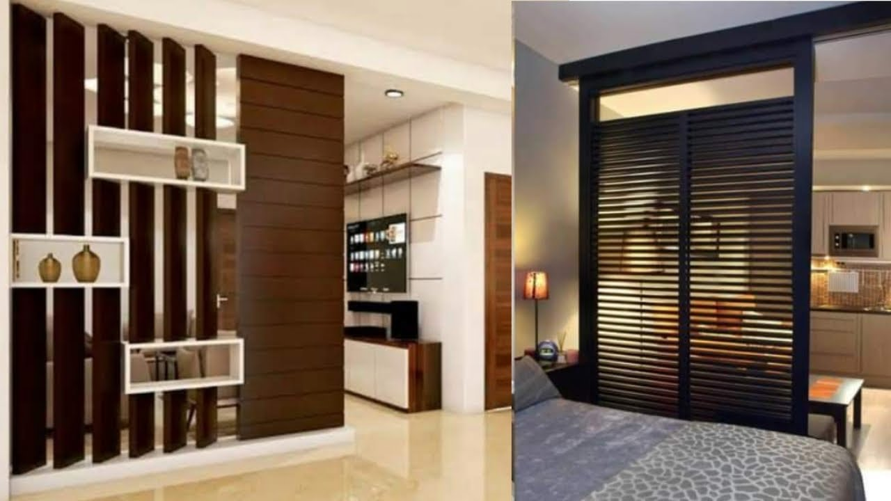Top 20 Wooden Partition Designs Between Living & Dining   Modern Room  Devider Ideas for Living Room