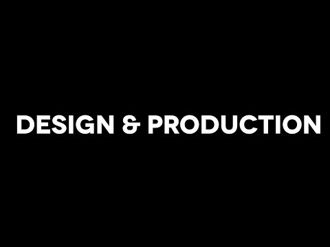 Theatre: Design and Production