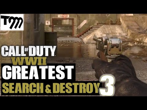 BEST ROUNDS EVER!! - Call of Duty WW2 - Search & Destroy Kills of the Week #3 (COD Top Plays) thumbnail