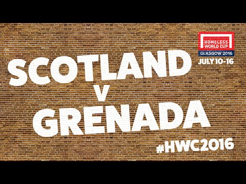 Scotland v Grenada | Group A #HWC2016