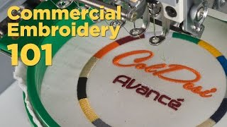 Embroidery 101 | Commercial Embroidery Machines vs Consumer Models
