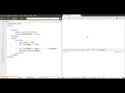 How to Use Strings in JavaScript, Basic Tutorial from YouTube · Duration:  3 minutes 14 seconds