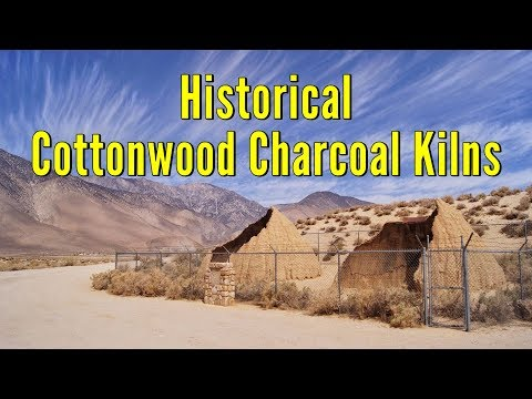 Historical Cottonwood Charcoal Kilns - Owens Valley