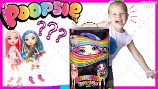 NEW POOPSIE RAINBOW SURPRISE DOLL Unboxing by Kin Tin!! Slime Fashion | Poopsie Slime Surprise