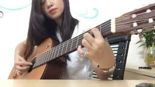 Baby I love you - Guitar covered by Hoang Yen