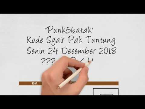 Kode Syair Pak Tuntung Senin 24 Desember 2018 Punk5batak