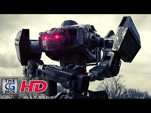 "CGI VFX Short FIlm: ""Robot Attack"" - by Brian Vowles   TheCGBros"