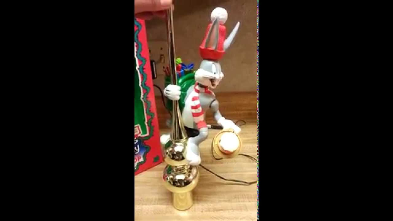 mr christmas bugs bunny tree topper - Mr Christmas Tree