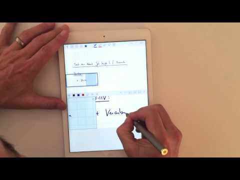 Test des Adonit Jot Script 2 Evernote Edition