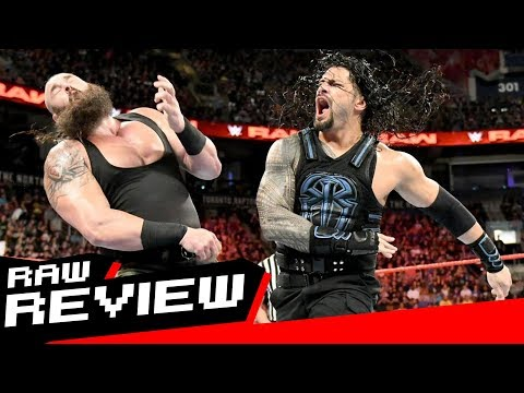 REVIEW-A-RAW 8/7/17: Reigns vs Strowman Last Man Standing, Toronto Live Report