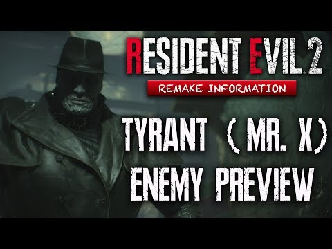 Resident Evil 2 Remake Enemy Preview: Mr X The Tyrant   Boss Guide