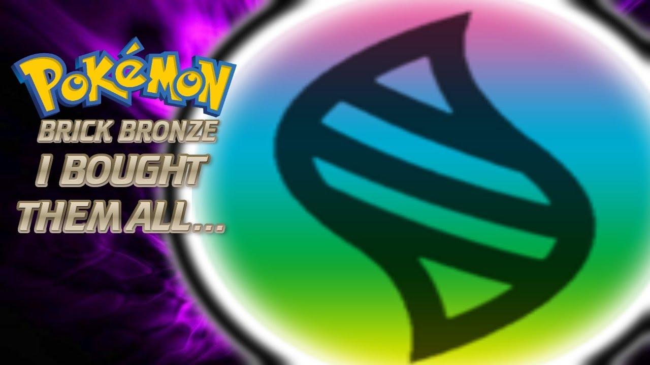Roblox Pokemon Brick Bronze 34 I Bought All Of The Mega Stonesrip Live Commentary - rip pokemon brick bronze roblox