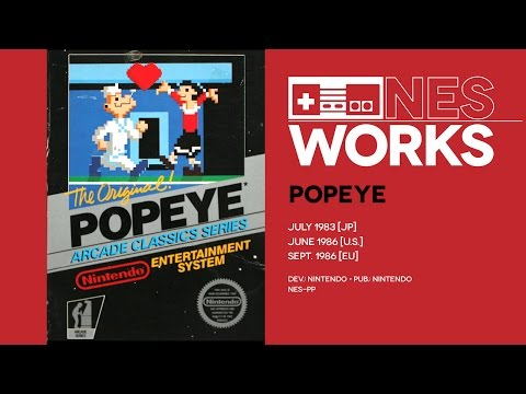 Popeye retrospective: An echo of what might have been | NES Works #021