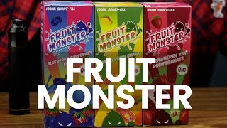 Fruit Monster E Liquid Review