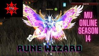 Rune Wizard  (Mu Online Season 14 Ep 1)