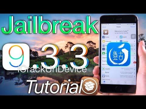 Jailbreak iOS 9.3.3 TUTORIAL! Pangu & Semi Untethered