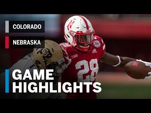 Highlights: Colorado Buffaloes vs. Nebraska Cornhuskers   Big Ten Football