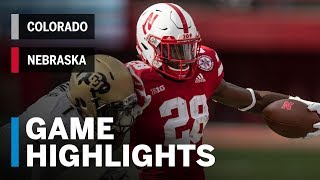 Highlights: Colorado Buffaloes vs. Nebraska Cornhuskers Big Ten Football