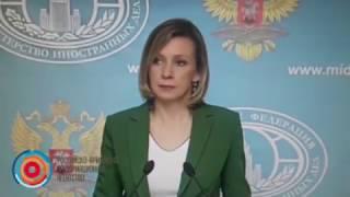 Мария Захарова не ответила на вопрос азербайджанского журналиста