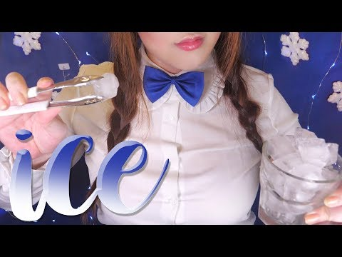ASMR ice for your Cooling & Refreshing ❄️