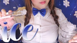 ASMR ice for your Cooling & Refreshing ❄️ 얼음소리