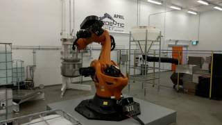 Fast robot cooking with Steam Infusion - APRIL Robotics Food Processing