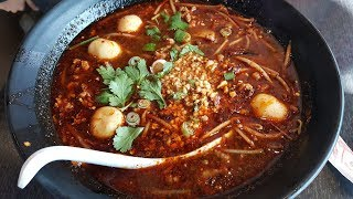 Ghost Pepper Tom Yum Noodle Fire Challenge (Thailicious)