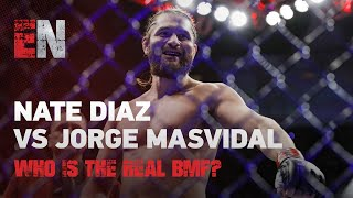 Nate Diaz vs Jorge Masvidal - Who Is The Real BMF? We ASKED BOXING STARS MMA STARS & CELEBS | ESNEWS
