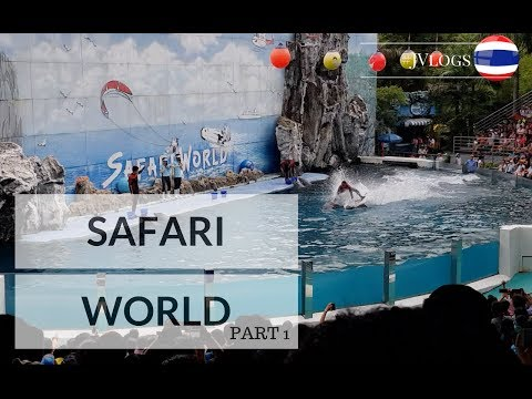 #JVlogs SAFARI WORLD | Best Animal & Leisure Park in THAILAND