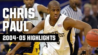 Before he was dominating defenses in the nba, chris paul led wake forest to consecutive ncaa tournaments from 2004-05. won acc rookie of year an...