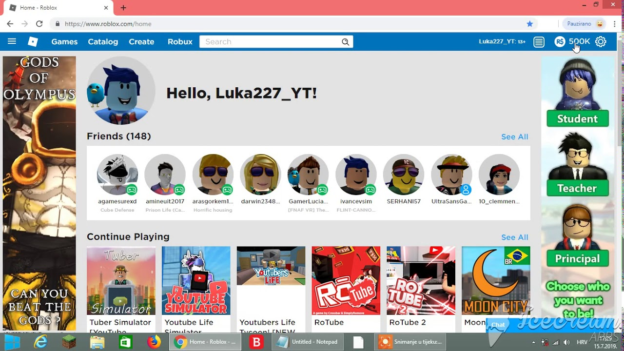 How To Get Free Robux Inspect Element 2019 Working Not Fake Youtube
