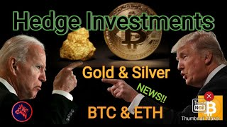 Bitcoin & Gold - Hedge Investments Against Upcoming U.S. Economical Factors