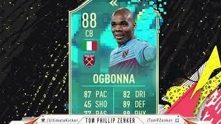 FIFA 20 SBC Flashback Angelo Ogbonna CHEAPEST SOLUTION 334000  FUT 20 SQUAD BUILDING CHALLENGE