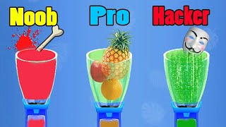 NOOB vs PRO vs HACKER Blend It 3D