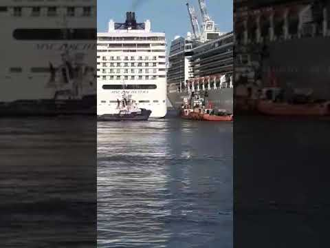 #MSC #Orchestra y #Poesia #Puerto de #BuenosAires... #Roce de #Cruceros