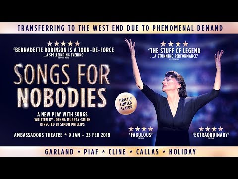 Songs for Nobodies West End Trailer Mp3
